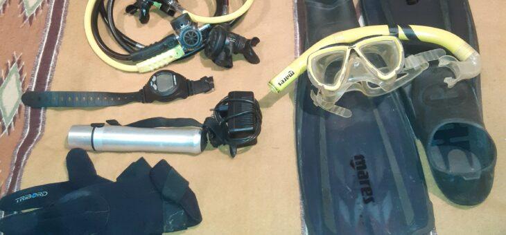 Equipement complet de plongée en bon état